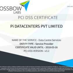 PCI DSS Pi data centers